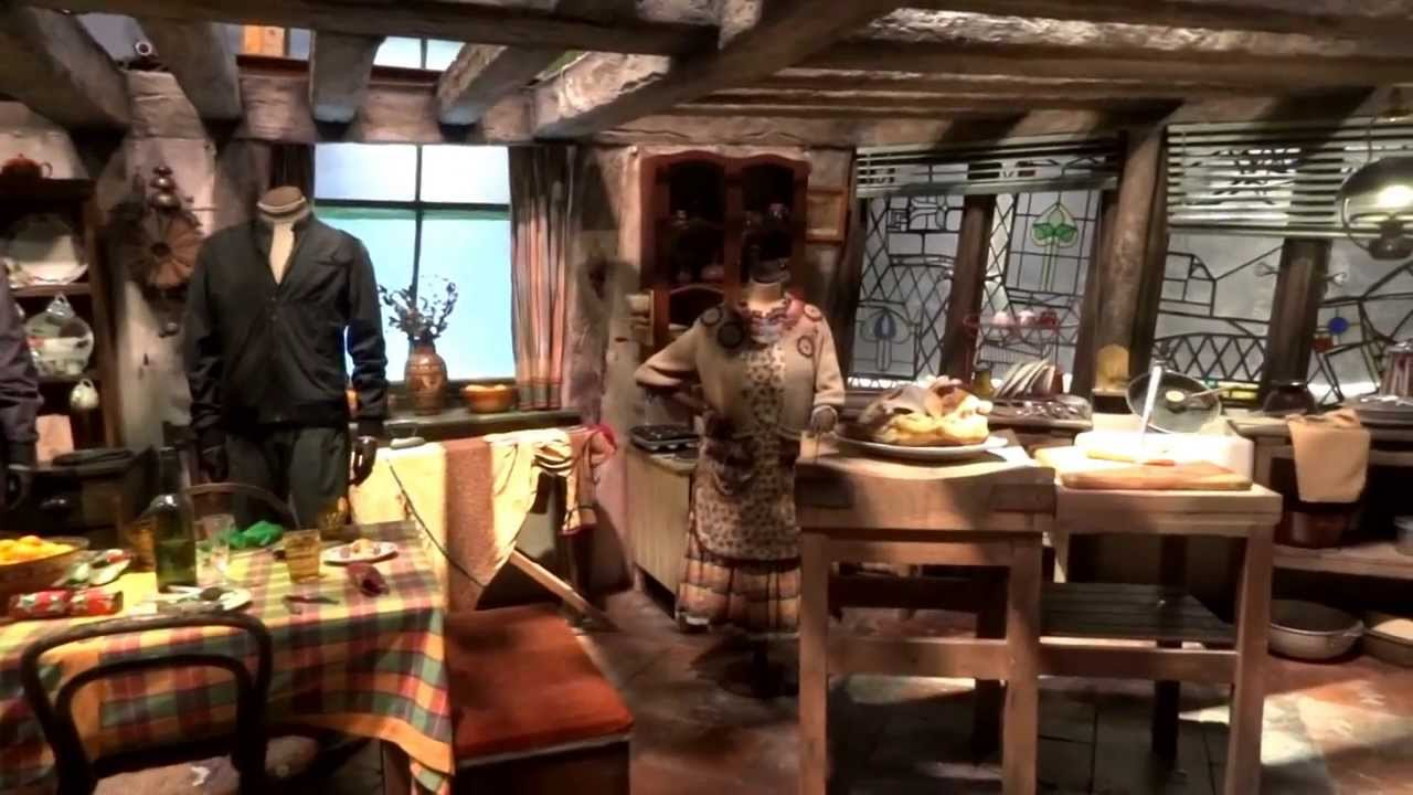 Harry Potter Studio Tour The Weasleys House The Burrow