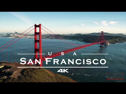 San Francisco, USA 🇺🇸 - by drone [4K]