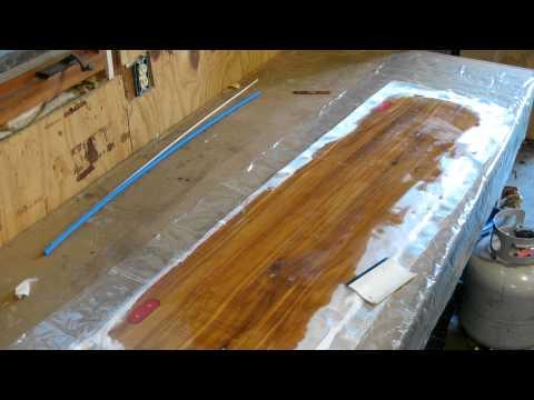 Cedar Board Layup