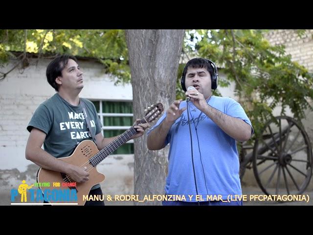 MANU & RODRI -ALFONZINA Y EL MAR- PlayingForChangePATAGONIA LIVE 2019-