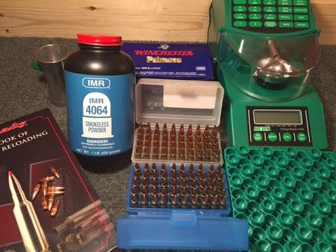 223 55 Grain Reload Session - Last of the IMR 4064 Loads?