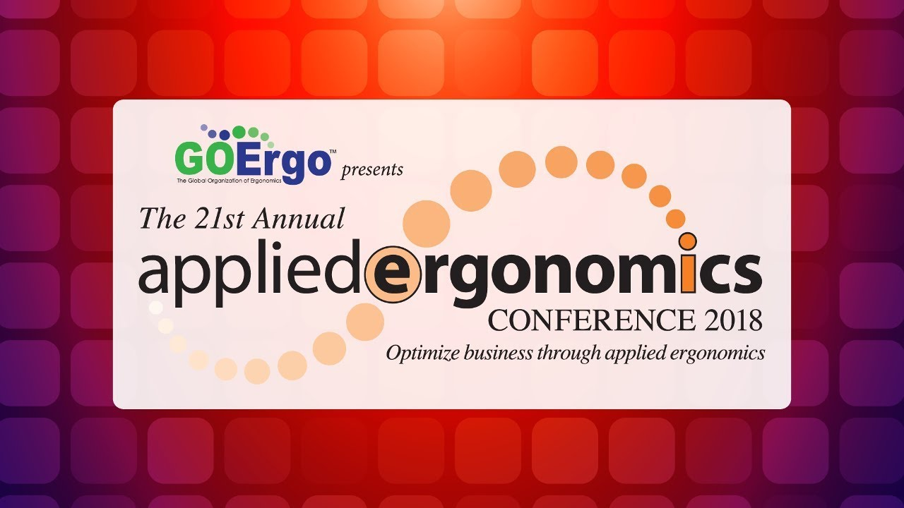 Applied Ergonomics Conference 2018-Retrospective