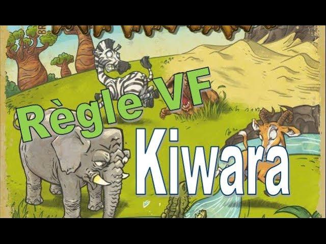 Kiwara  - Règle du jeu VF - Oz Editions #145