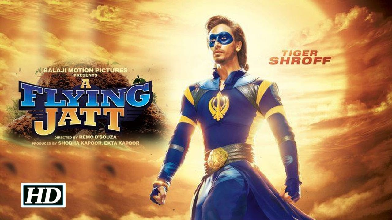 Download A Flying Jatt(2016) |  Tiger Shroff, Jacqueline Fernandez And Nathan Jones | Official Trailer Launch