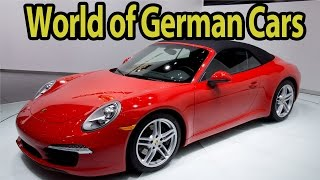 The World of German Cars