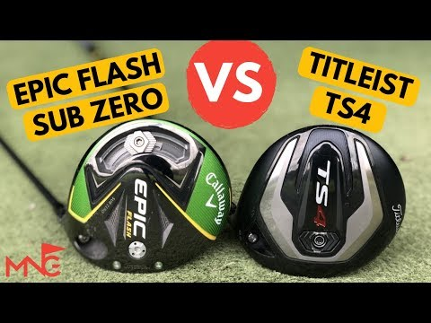 Is There A Clear Winner?? Titleist TS4 Driver VS Callaway Epic Flash Sub Zero Driver from YouTube · Duration:  11 minutes 29 seconds