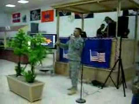 Karaoke Lunch in Iraq
