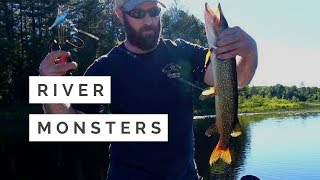 RIVER Monsters  | FISHING the Bonnechere RIVER | BASS & PIKE