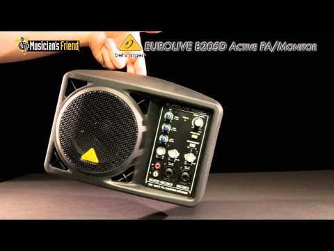 Behringer EUROLIVE B205D Active PA/Monitor Speaker