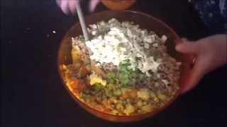 Video Spelt Salad Recipe ( Video Ricetta Insalata Di Farro )
