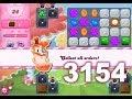 Candy Crush Saga Level 3154 (3 stars, No boosters)