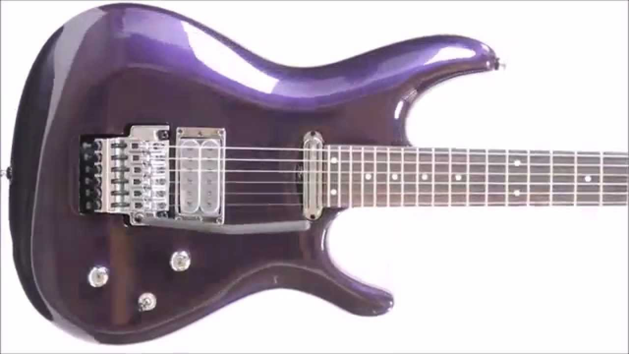 Joe Satriani 6 String Js2450 Mcp Muscle Car Purple Electric Guitar W