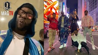 """2 Chainz Gets """"Bussed Down"""" By Da Ops At Dubai Airport! 👮🏽♂️"""
