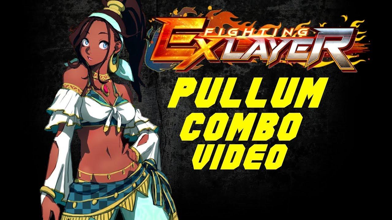 fighting ex layer pullum combo video youtube youtube