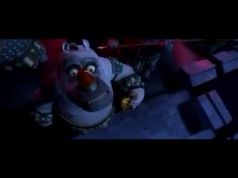 Kung Fu Panda - Tai Lung Escape with Cartoon Sound Effects