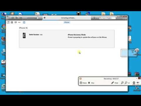 How to downgrade update or restore 7. 1. 2 firmware iphone 4s youtube.