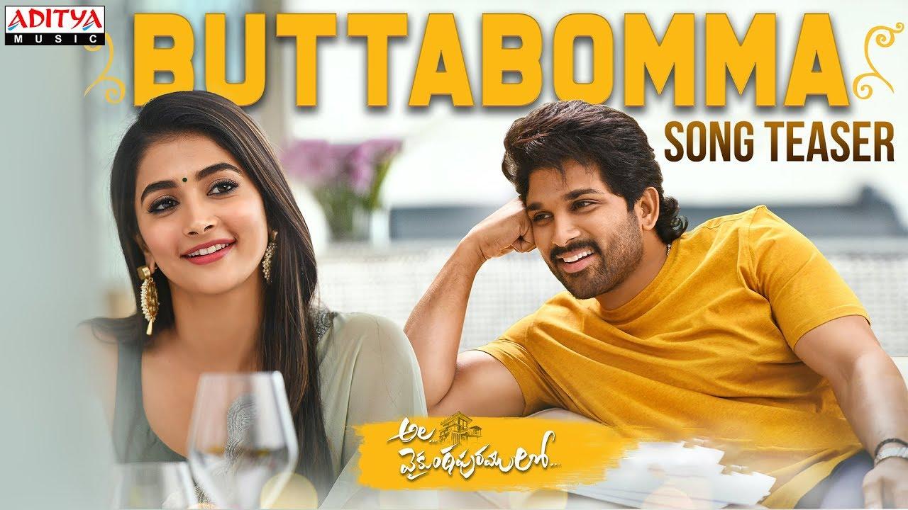 #AlaVaikunthapurramuloo - ButtaBomma Song Teaser || Allu Arjun || Trivikram | Thaman S |#AA19