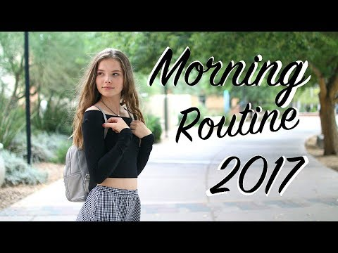 School Morning Routine 2017 Youtube