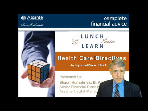 Lunch & Learn - Health Care Directives