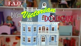 The Big Victorian Dollhouse Tour