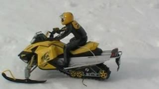 Rc Snowmobile Jumping
