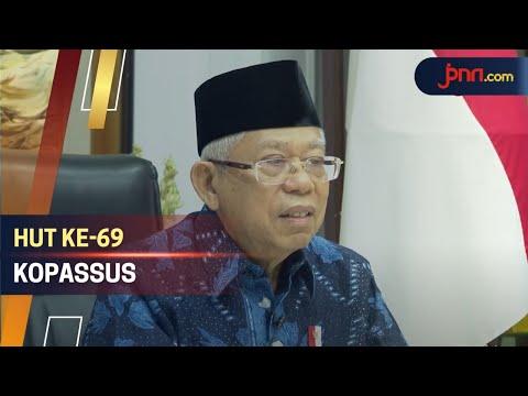 Wapres Ma'ruf Amin Beber Catatan Emas Kopassus dalam Sejarah Bangsa