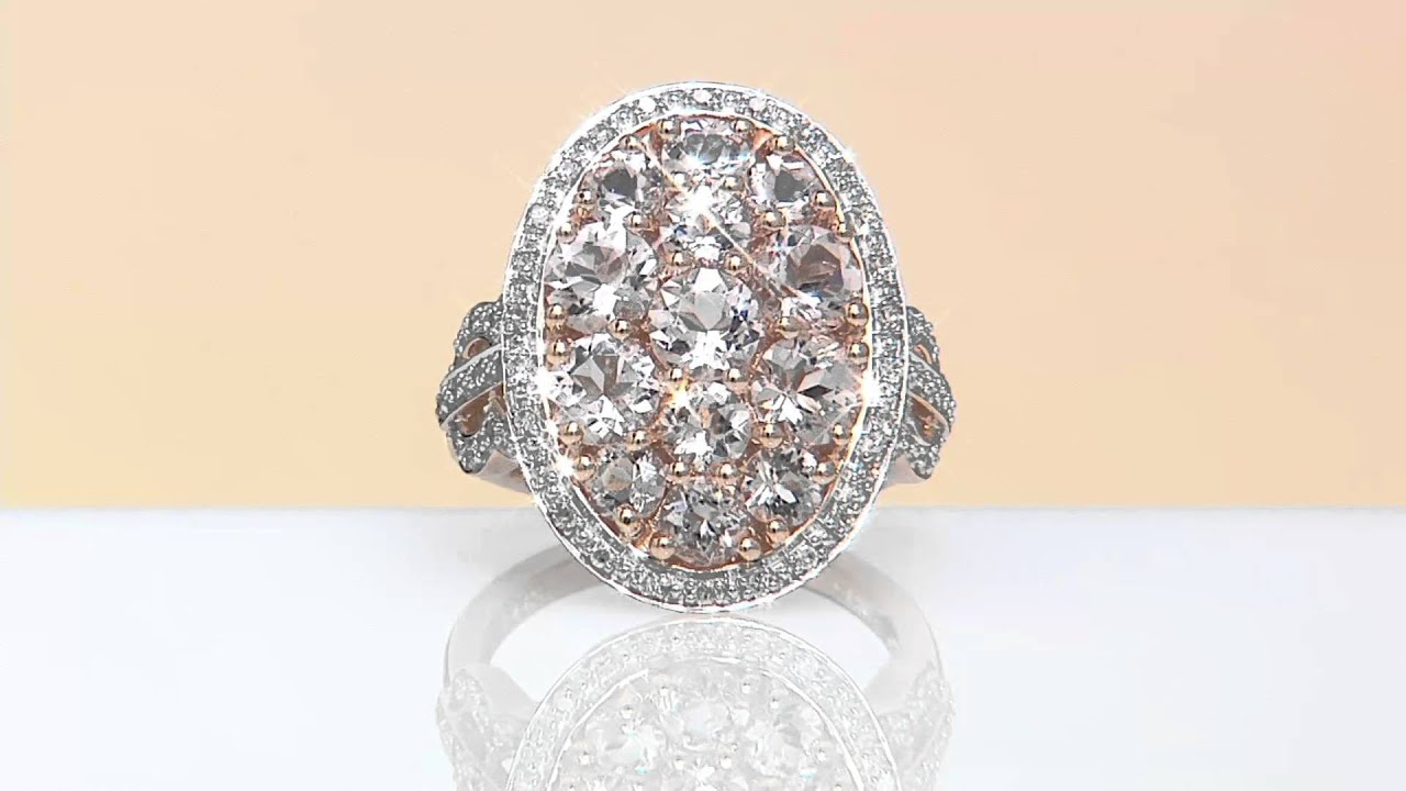 5cttw Diamond Bold Cluster Ring, 14k Gold On Qvc