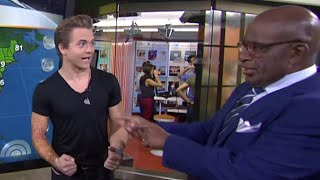 Hunter Hayes Does The Weather | TODAY