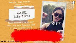 Karaoke Tanpa Vokal | MANTUL - Vita Alvia