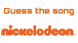Guess the song: Nickelodeon series