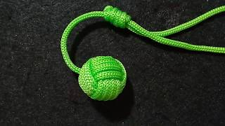 Gantungan kunci bola dari tali kur//Ball keychain//Monkey fist//pelangi shop