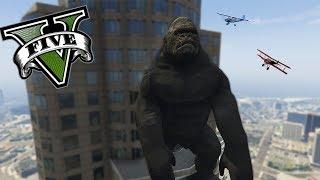 GTA V PC MODS - EL AUTENTICO KING KONG EN LOS SANTOS !! OMG - ElChurches