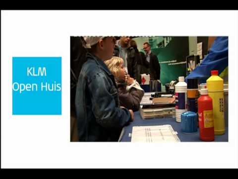 KLM 90 Years of inspiration - KLM Open huis