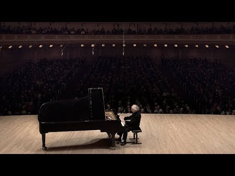 András Schiff Recital at Carnegie Hall. April 2018