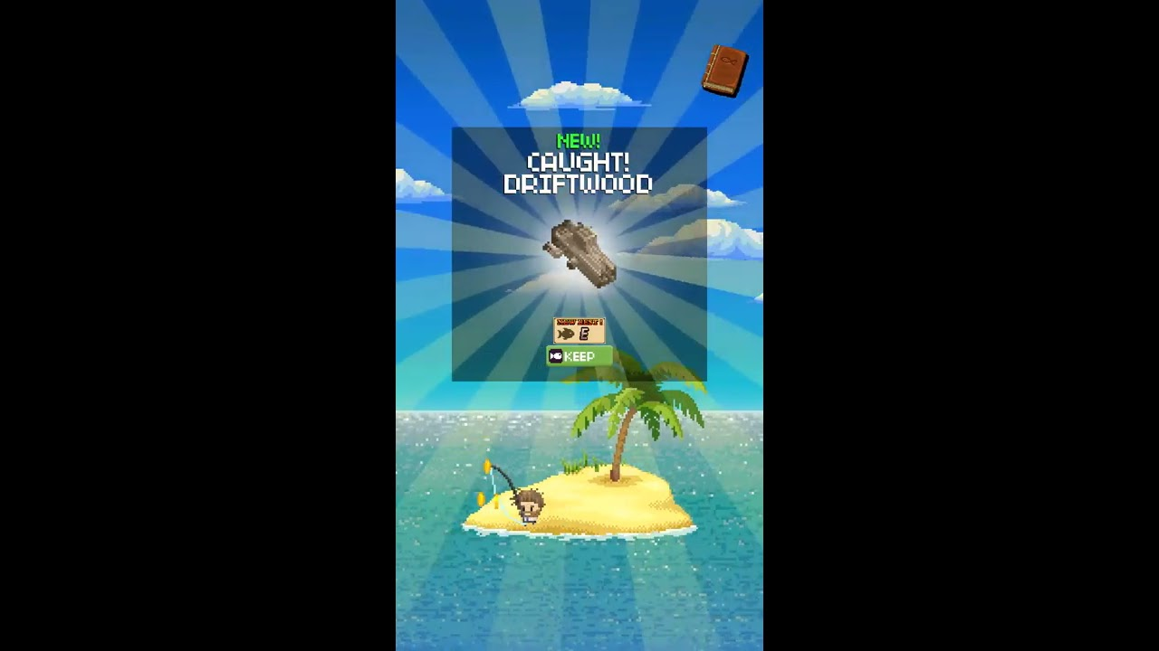 Desert island fishing early access gameplay indie for Desert island fishing