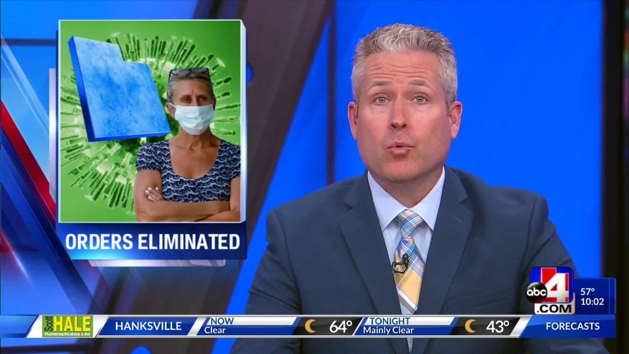 Utah reaches criteria to lift COVID-19 public health orders