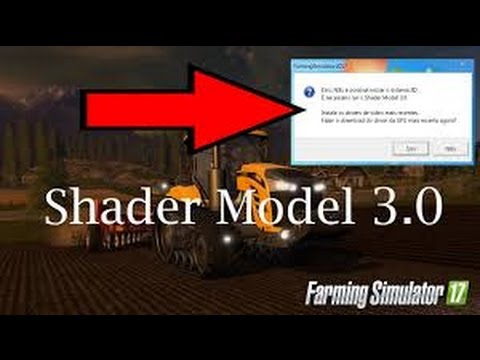pilote video shader model 3.0