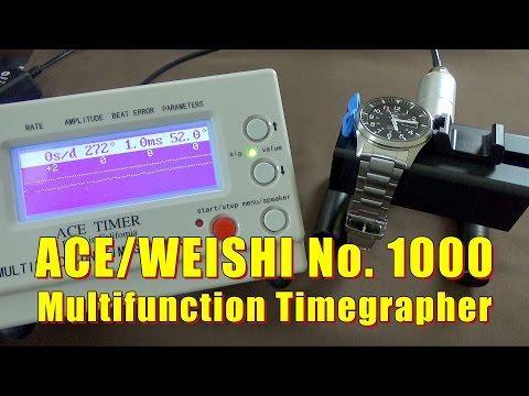 Ace Weishi No. 1000 Timegrapher