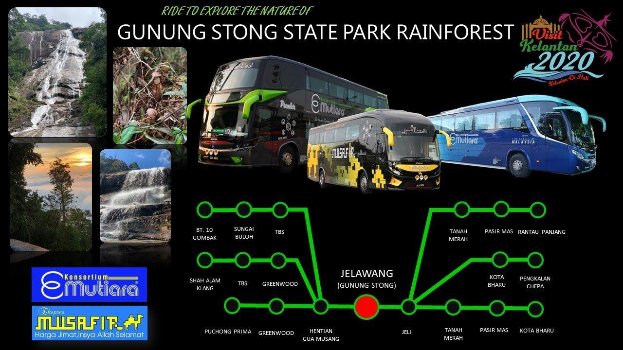 Syurga Gunung Stong Kelantan Youtube