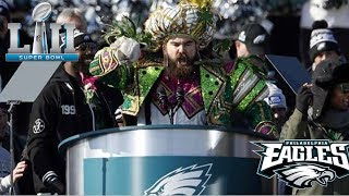 """Eagles Parade And Jason Kelce's Epic Rant!!! An Underdog Is A Hungry Dog...""""Can't Layoff The Juice"""""""