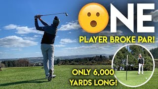 One Player Broke Par...The course is only 6,000 yard long! Crosland Heath Comp Review