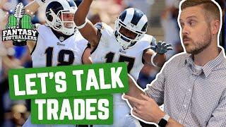 Fantasy Football 2019 - Buy/Sell + Let's Talk Trades, A Healthy Beating - Ep. #792