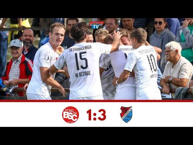 Highlights: Bahlinger SC - TSV Steinbach Haiger 1:3 (Regionalliga Südwest 2019/20)
