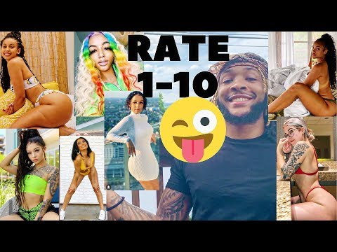 RATING FEMALE YOUTUBERS 1-10 (Uncensored) Ft. Allyiahsface, Tiffanieray, Vicky, Diamond Nicole etc thumbnail