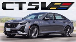 The 2020 Cadillac CT5-V is not a Real V