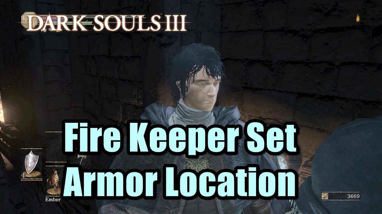 Dark Souls Animated Wallpaper How To Get Fire Keeper Set Armor In Dark Souls 3 Youtube