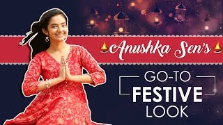 Download Video Anushka Sen: Go To Festive Look | India Forums Exclusive MP3 3GP MP4