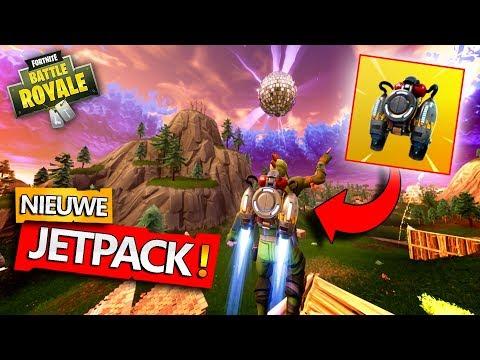 *JETPACK* + BOOGIE BOMB = MEGA FUNNY!! - Fortnite Battle Royale met Joost & Link (Nederlands)