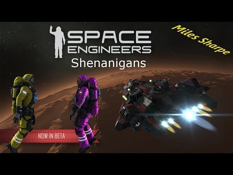 Solar Powered Car | Space Engineers Shenanigans #1 w/ Tendrail Atheris