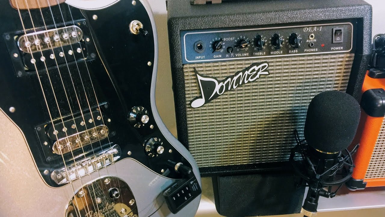 Donner Electric Guitar Amp : donner guitar amp 10 watt amplifier dea 1 first look review youtube ~ Russianpoet.info Haus und Dekorationen